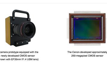 Canon's 250-Megapixel APS-H Sensor Shoots 5 FPS at 30x 4K Resolution