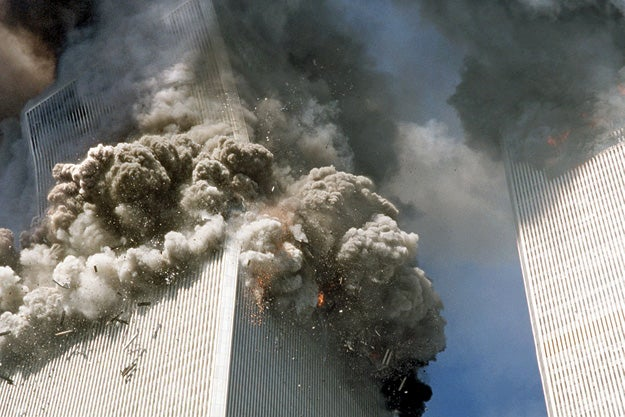 The South Tower Collapses