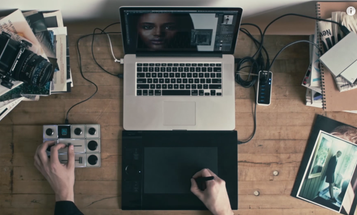 Palette Uses Tactile Buttons, knobs, and Sliders for Photo Editing