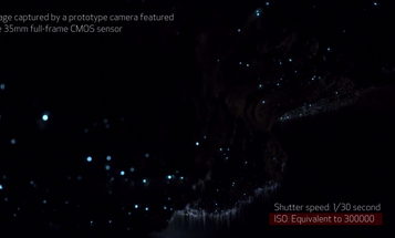 Canon Shows Off Prototype Full-Frame Sensor With Super-High Sensitivity