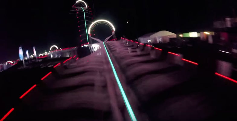 Drone Grand Prix Racing in Dubai