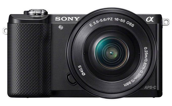 Sony a5000 interchangeable-lens camera