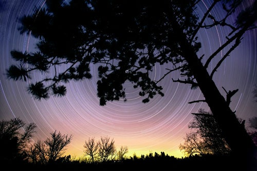 """""""Landscapes-After-Dark-The-North-Star-on-Christmas"""""""