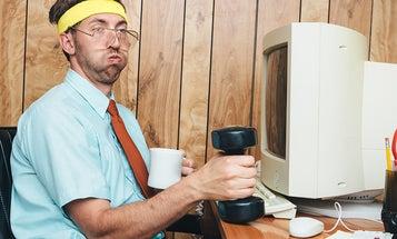 Ryan J. Lane's offbeat throwback nerd portraits