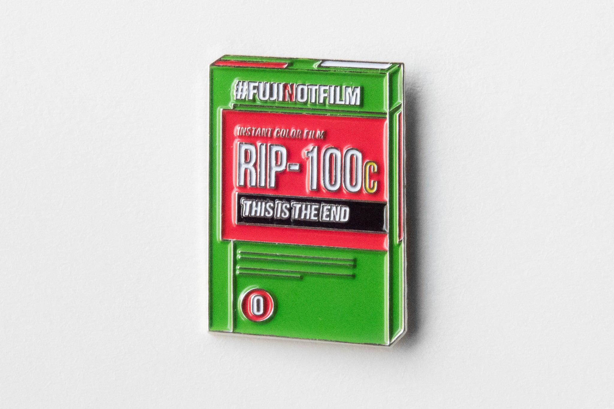 Shoot Film Co. fujifilm FP-100C Memorial Pin