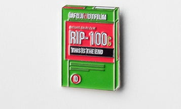 Mourn the Loss of Fujifilm's Much-Loved Instant Film With This Awesome Lapel Pin