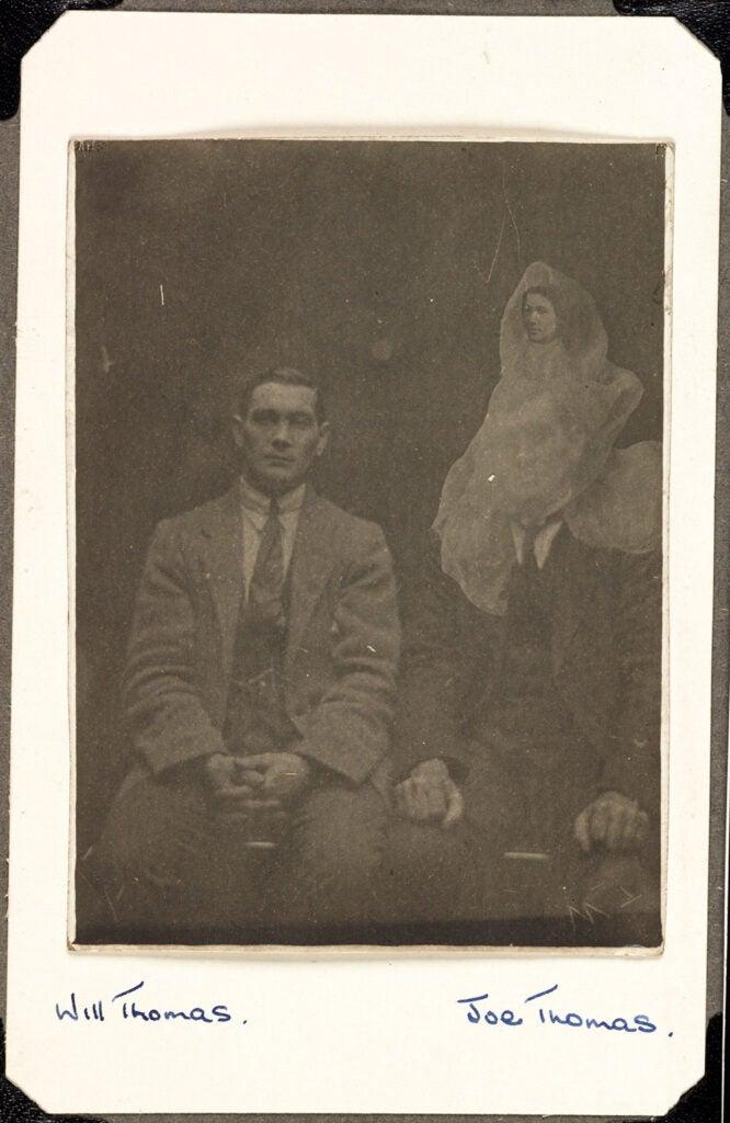 Joe and Will Thomas and their grandmothers spirit