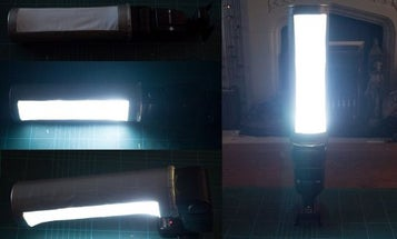 How to Make a DIY Strip Light Flash Mod From a Pringles Can