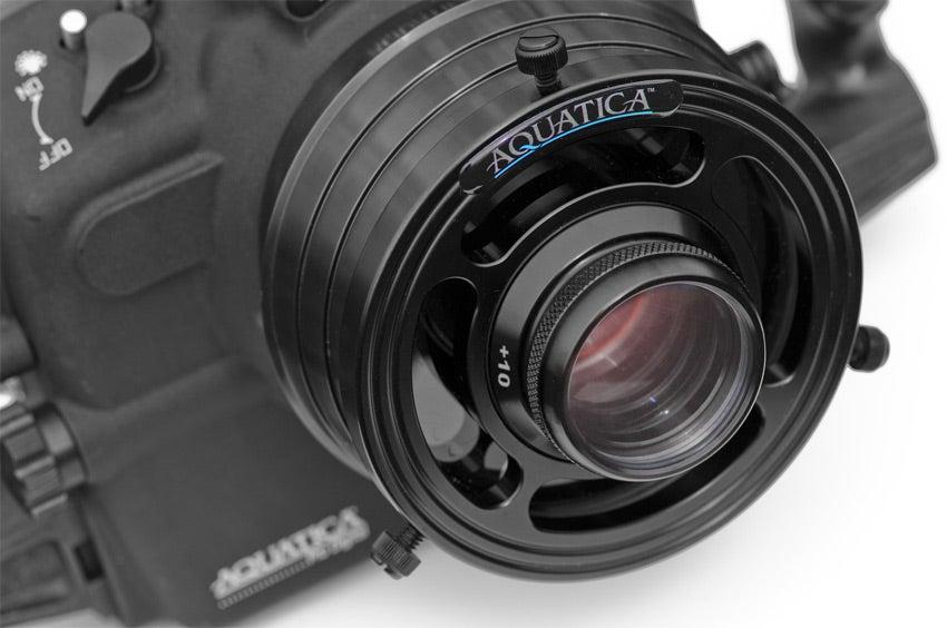 Aquatica Macro Port for shooting underwater close-up images