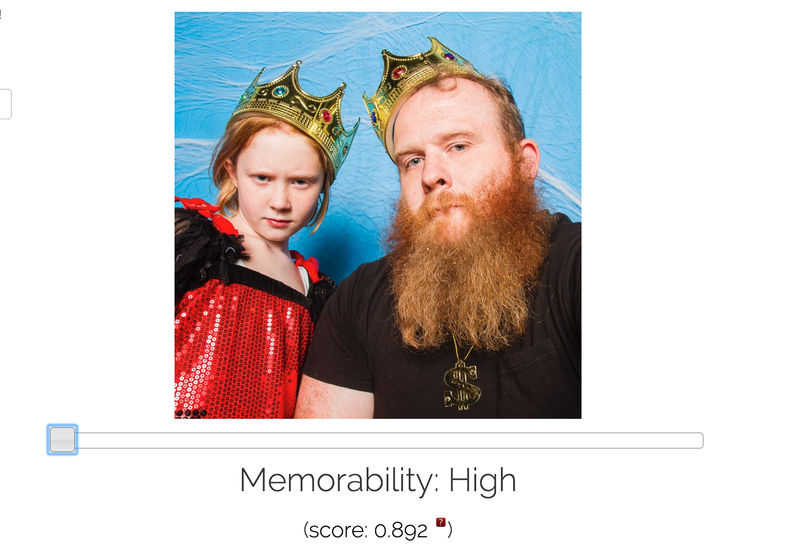 MIT MemNet Can tell How memorable your photos are