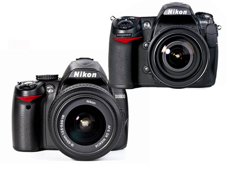 Hands-On-Nikon-D3000-D300s