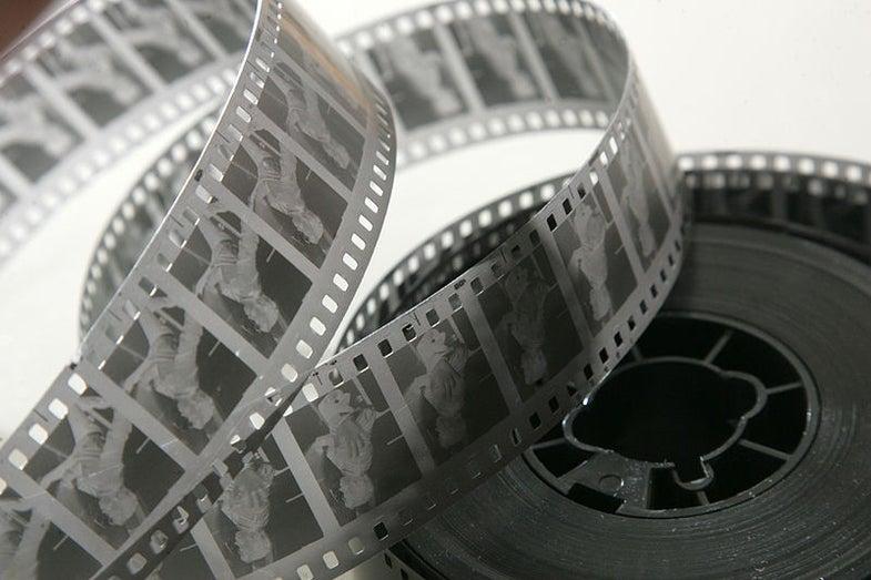 35mm movie negative