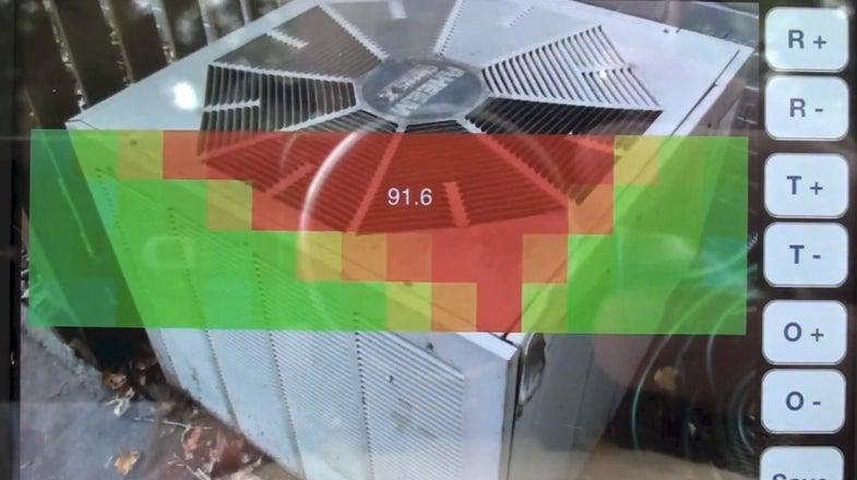 thermal imaging iphone