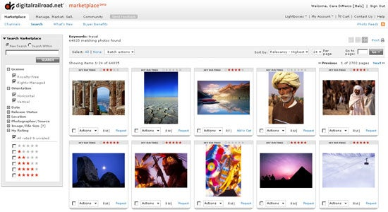 Digital Railroad Launches Photo Marketplace