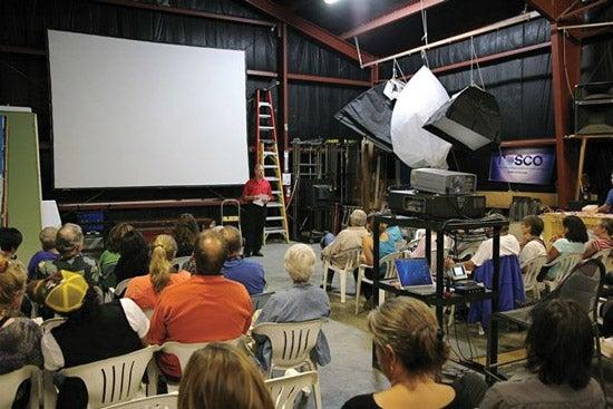 """Maine-Media-Workshops-Friday-night-s-weekly-scree"""