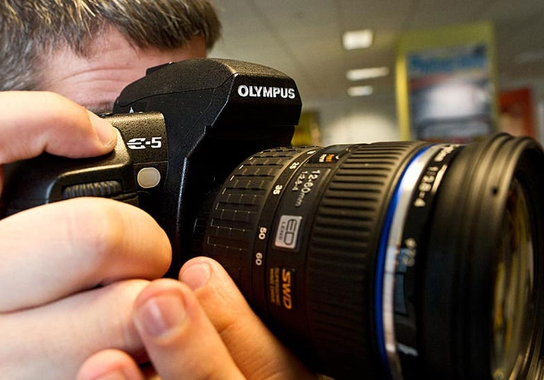 New Gear: Olympus E-5 DSLR