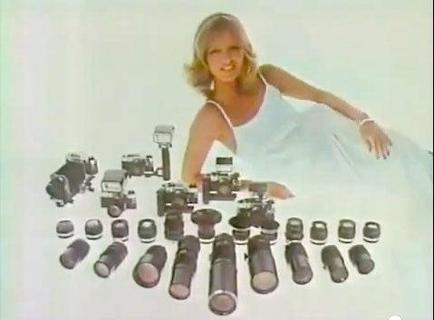 44 Amazing Retro Camera Commercials