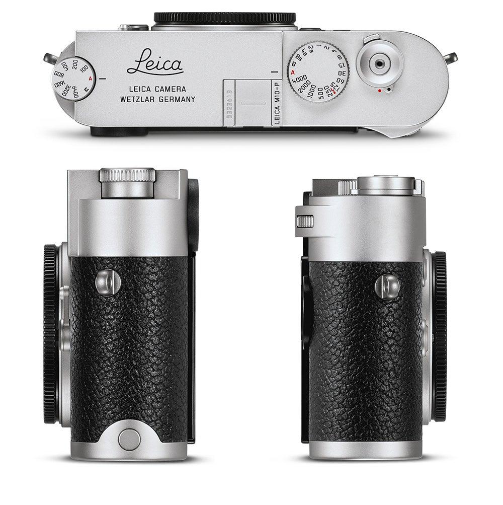 Leica M-10P Camera silver chrome view