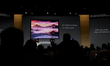Microsoft Surface Studio Is A 28-Inch Touch-Enabled All-In-One Computer For Creatives