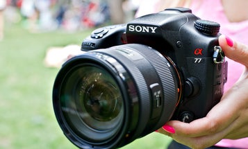 Hands On: Sony Alpha A77 and A65 Translucent Mirror DSLR, Plus DT 16-50mm F2.8 SSM Zoom Lens