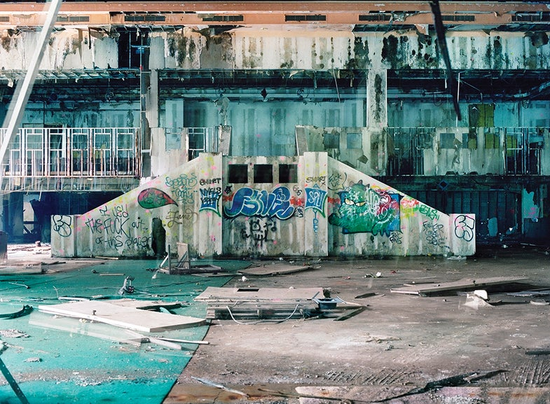 "Image from Marisa Scheinfeld's ""Echoes of the Borscht Belt"""