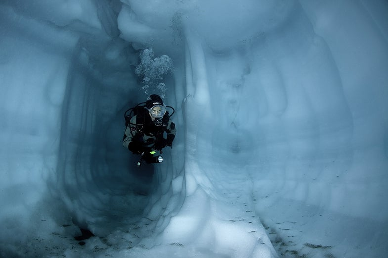Ice-Cave