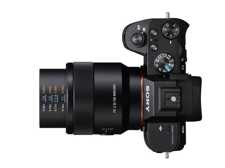 Sony FE 50mm f/2.8 Macro Lens For Full-Frame Cameras