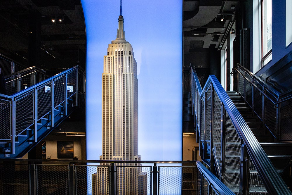 Empire state building stairs
