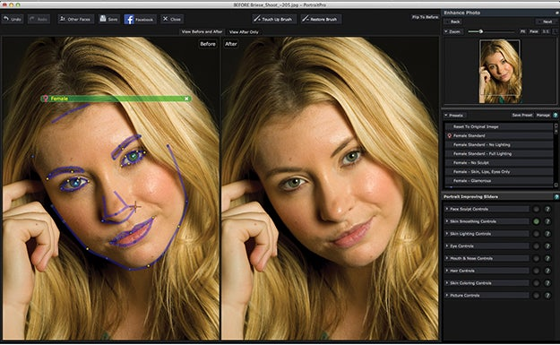 Software Workshop: Using Anthropic's PortraitPro For Fast Retouching