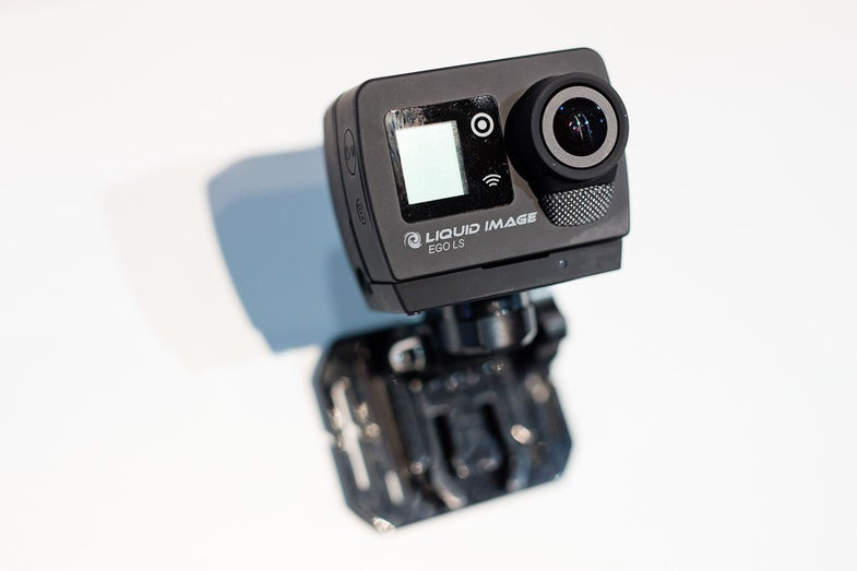 Liquid Image Ego LS Action Camera With Verizon 4G Streaming