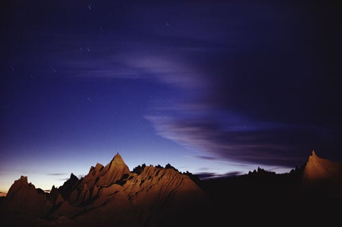 """""""Landscapes-After-Dark-Pinnacles-and-star-trails"""""""