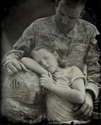 """""""Collodion-Soldiers-SGT-Lane-Patterson-and-Samanth"""""""