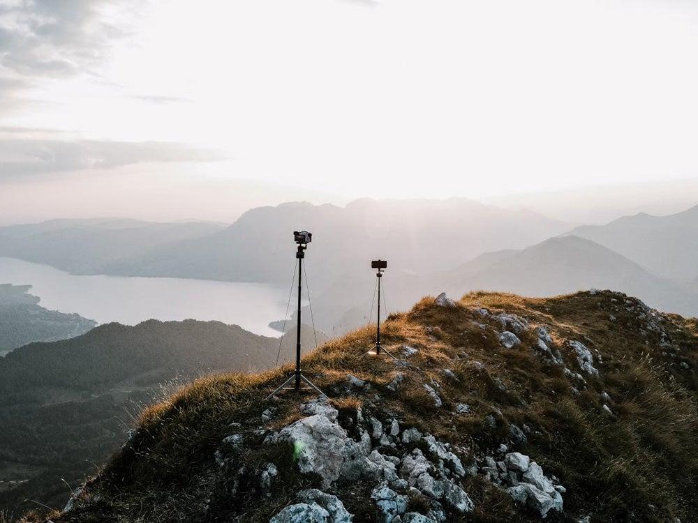 lumapod on a hill