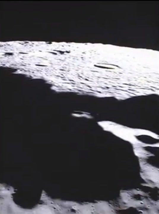 NASA Grail moon