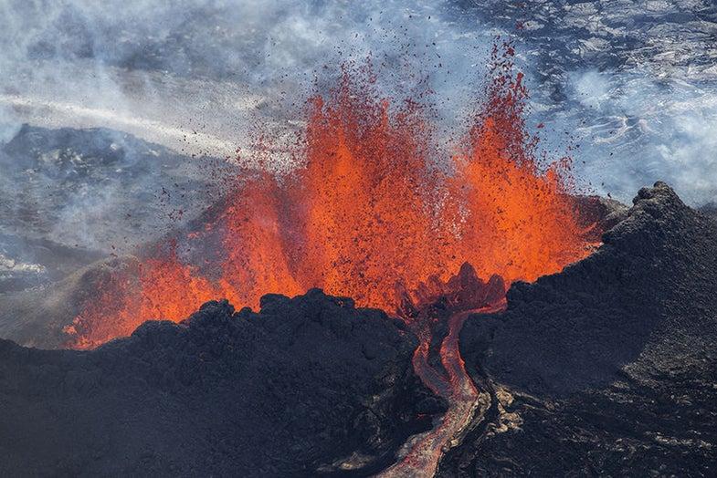 Iceland's Holuhraun eruption