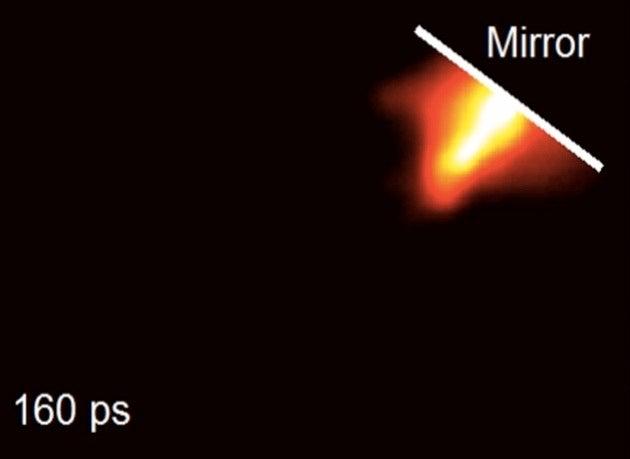 100 Billion Frames Per Second Video of Light in Slow Motion