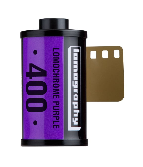 lomography lomochrome purple