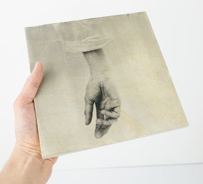Shots On Stone Analog Photo Prints On Stone Slabs
