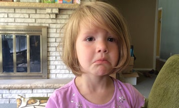 Little Girl Heartbroken To Learn That Deleted Photos Are Gone Forever