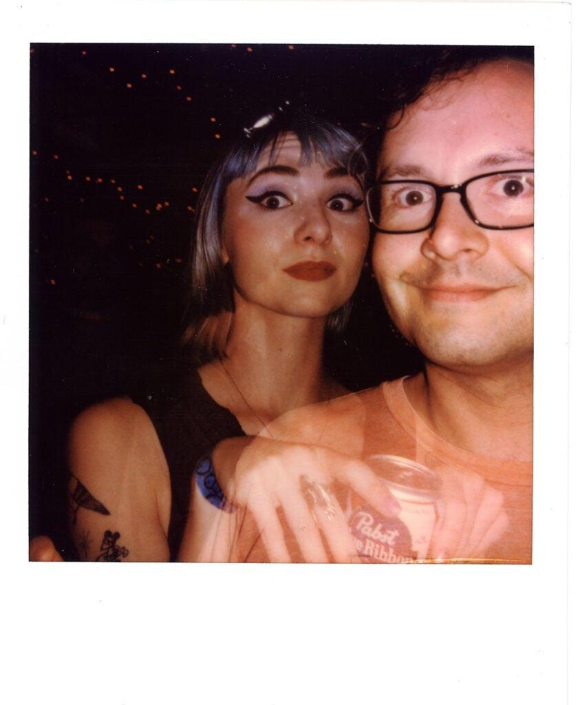 Polaroid Onestep+ sample party