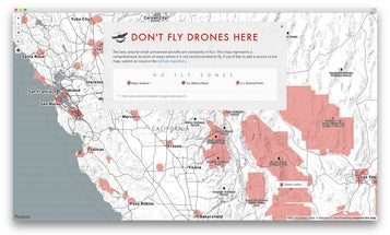 This Map Shows Where You're Not Allowed to Fly Drones in the US