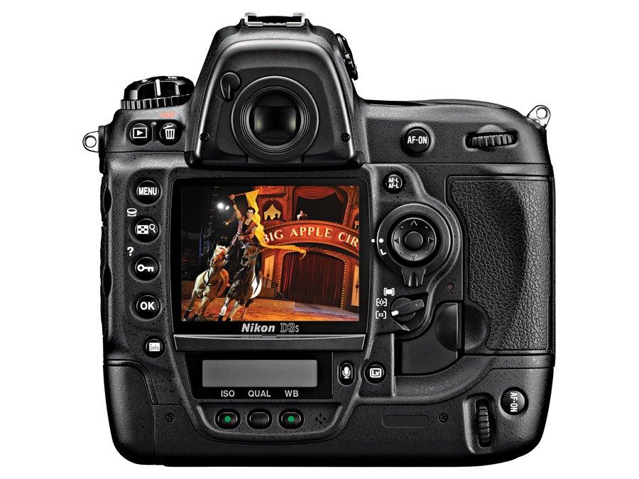 viewfinder screen Nikon D3S