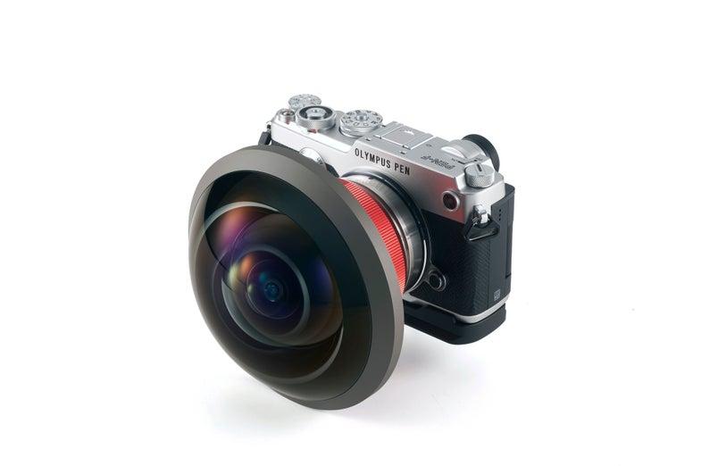 Entaniya Fisheye 250 MFT Super-Wide Angle Camera Lens