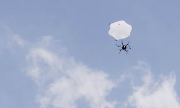 DJI Working on Parachute System to Rescue Falling Camera Drones