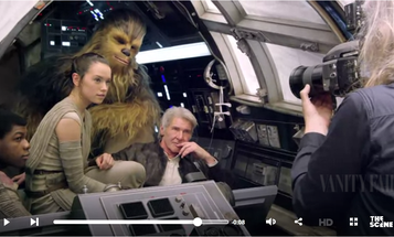 Dream Assignment: Annie Leibovitz Photographs The Cast of the New Star Wars