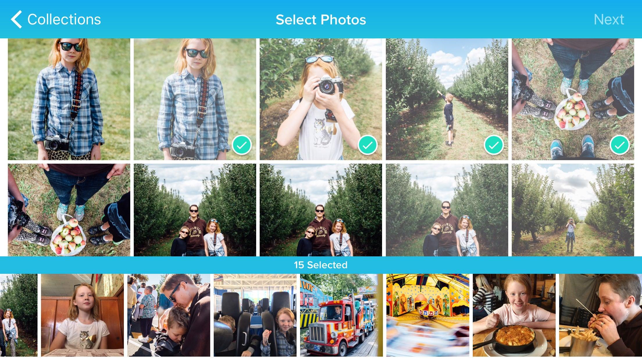 Blurb Photo Book Smartphone App