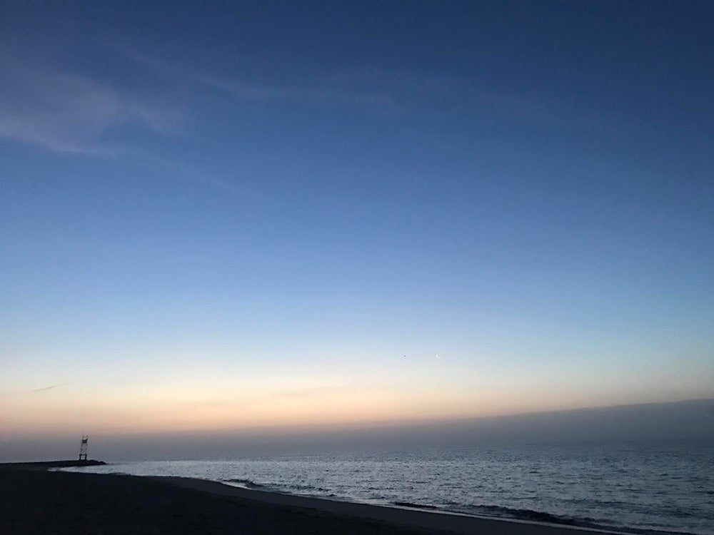Cape Cod before sunrise