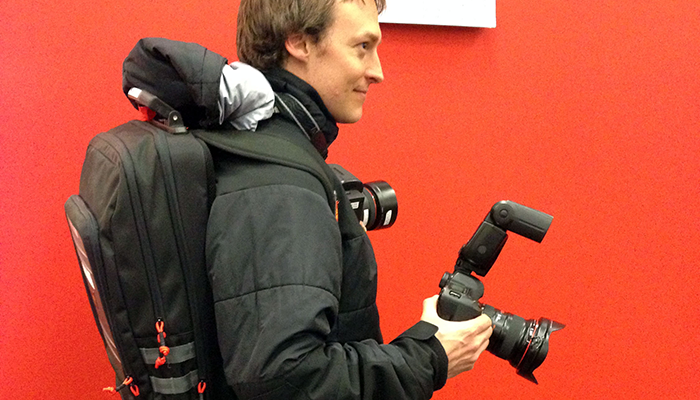 NYT streaming backpack