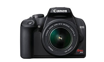 Hands On: Canon EOS Rebel XS/1000D