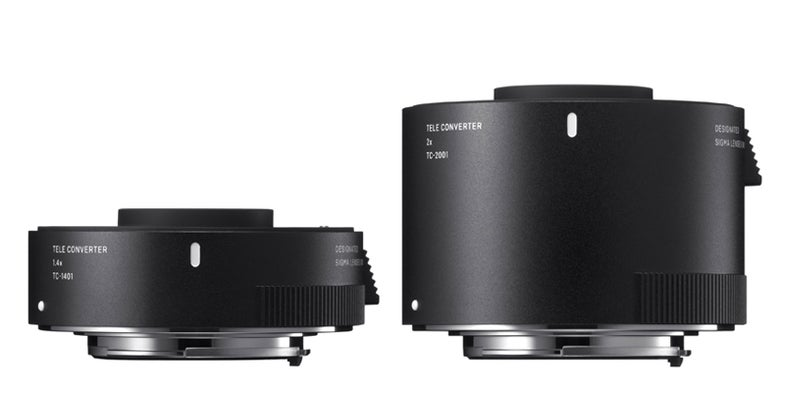 Sigma Teleconverters and filters